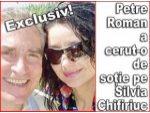 Exclusiv! - Petre Roman a cerut-o de sotie pe Silvia Chifiriuc
