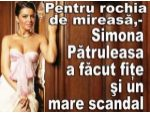 Pentru rochia de mireasa, Simona Patruleasa a facut fite si un mare scandal