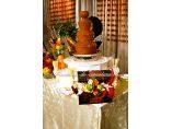 Sculpturi in fructe si legume - Fantana de ciocolata #3