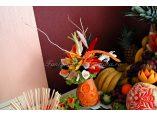 Fructe si legume sculptate - Fantana de ciocolata #4