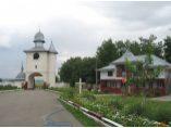Turnul-clopotnita privit din curtea manastirii - Manastirea Bogdanesti #2