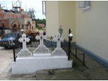 Mormantul maicilor starete - Manastirea Bradatel #5