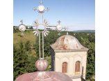 Cruci peste turle - Manastirea Gura Motrului #8