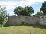 Detaliu al zidului de incinta - Manastirea Hagigadar #4