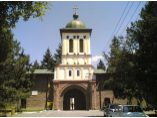 Turnul clopotnita - intrarea manastirii - Manastirea Plumbuita #2
