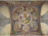 Pictura de pe bolta bisericii - Manastirea Sitaru #2