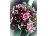 Lumanare cununie hortensie si trandafiri - Rossemary Design #8