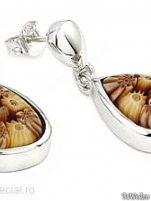 Cercei argint cu sticla de Murano - Cercei argint cu sticla Murano #10