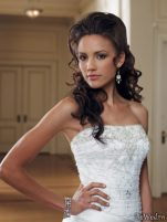 Coafuri si machiaj mirese, primavara-vara 2011 - Mireasa moncheri bridals #15