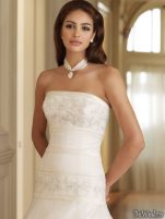 Coafuri si machiaj mirese, primavara-vara 2011 - Mireasa moncheri bridals #16