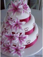 Idei pentru tortul de nunta - Tort nunta #6