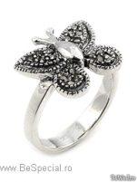 Inele - Inel argint marcasit #2