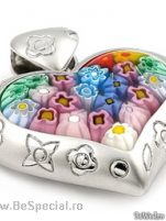 Pandative argint cu sticla de Murano