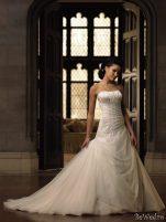 Rochii de mireasa Moncheri Bridals, sezonul primavara - vara 2011 - Rochie de mireasa moncheri bridals #6
