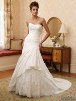 Rochii de mireasa Moncheri Bridals, sezonul primavara - vara 2011 - Rochie de mireasa moncheri bridals #11