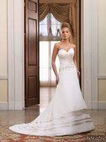 Rochii de mireasa Moncheri Bridals, sezonul primavara - vara 2011 - Rochie de mireasa moncheri bridals #14